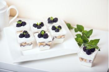 Bílý jogurt s Chia semínky