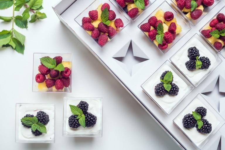 Jogurt se semínky / Mix ovoce