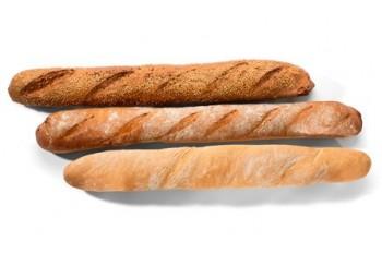 Bagety - francouzská a třízrnná